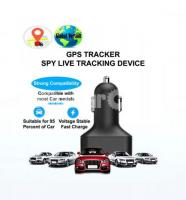 GPS Tracker Car Charger Live Tracking Device with Voice Monitoring System