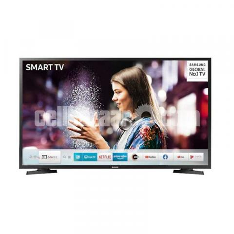 "Samsung 32"" UA32T4400ARSFS Smart HD TV - Black - 1/3"