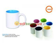 Inside & handle color mugh