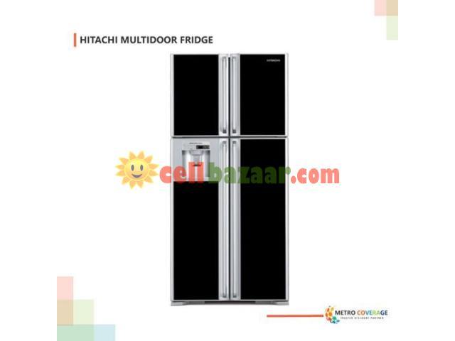 HITACHI (R-W720FPMSX) Multi-Door Smart Fridge - 1/1