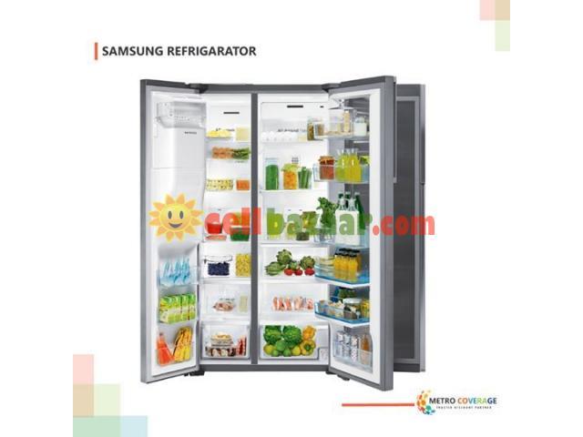 Samsung RSH7SUSL Side By Side 537 Liter Refrigerator - 1/1