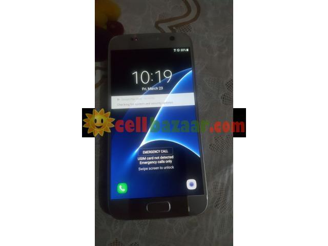 Galaxy S7 blue - 3/4