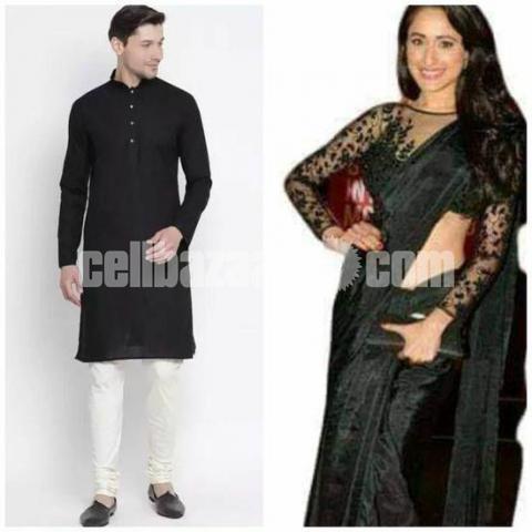 Valentine Couple Dress - Punjabi + Sharee - 2/2