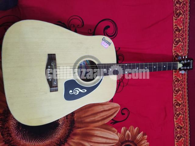 GIVSON 6 String Accoustic Spanish Guitar (R-Hole) - 1/8