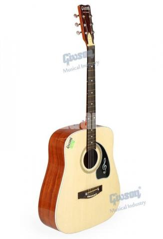 GIVSON 6 String Accoustic Spanish Guitar (R-Hole) - 6/8