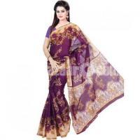Gorgeous Printed Cotton Sharee