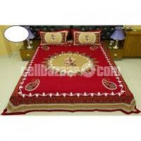 King Size Panel Cotton Bed Sheet - Image 3/5