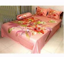 King Size Panel Cotton Bed Sheet - Image 4/5