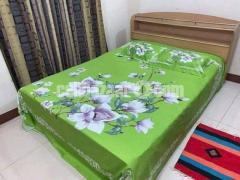 King Size Panel Cotton Bed Sheet - Image 5/5