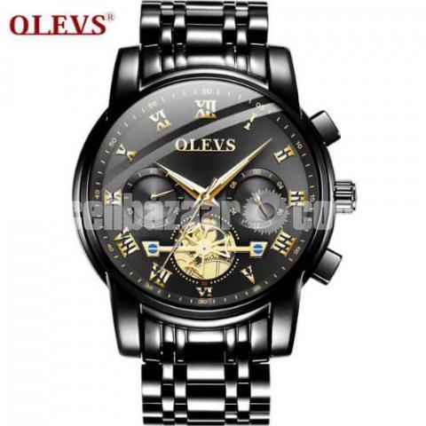OLEVS  2859 Luxury Stainless Steel Wrist Watch - 1/1