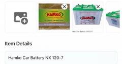 Hamko Battery car NX120/7