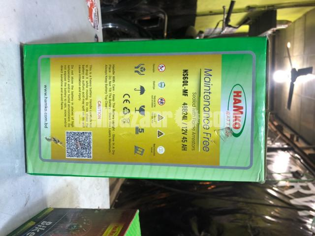 Hamko Silva Car Battery Maintenance Free - 1/2