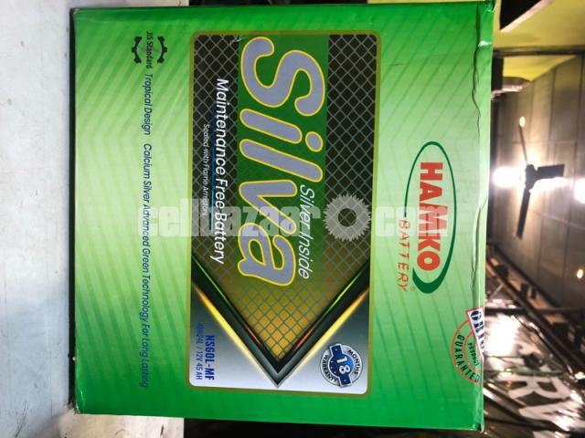 Hamko Silva Car Battery Maintenance Free - 2/2