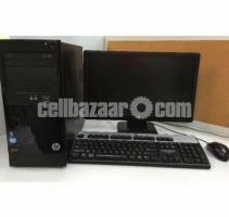Hp Core i5 Brand Pc with Hp 19'' Fresh Led