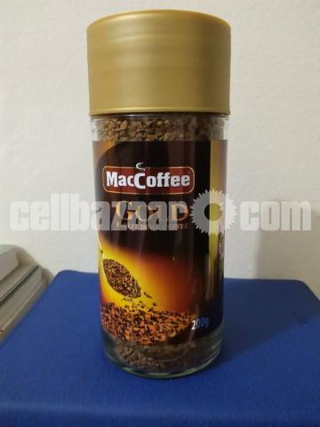 MacCoffee Gold Freeze Dried Coffee 200gm Jar - 1/2