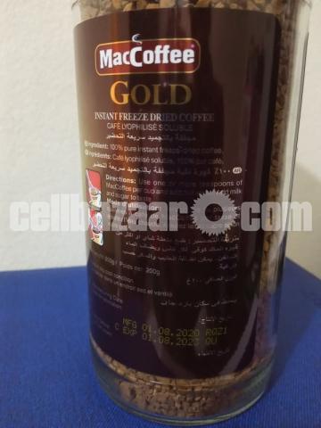 MacCoffee Gold Freeze Dried Coffee 200gm Jar - 2/2