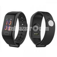 F1 Color Screen Smart Watch With Heart Rate Blood Pressure Monitor Smartwatch