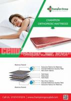 Champion Orthopedic Mattress (78x48x4) inch