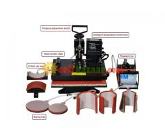 8 in 1 combo Sublimation hit press machine.