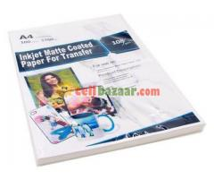 Sublimation Inkjet matte  Paper
