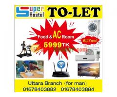 3star hostel in uttara dhaka