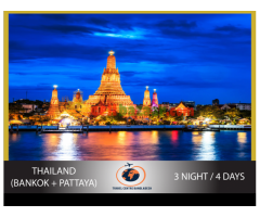 THAILAND (BANKOK + PATTAYA) PACKAGE