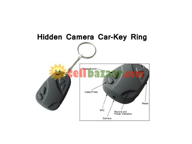 Spy Camera Car Key Ring 32GB - 2/5