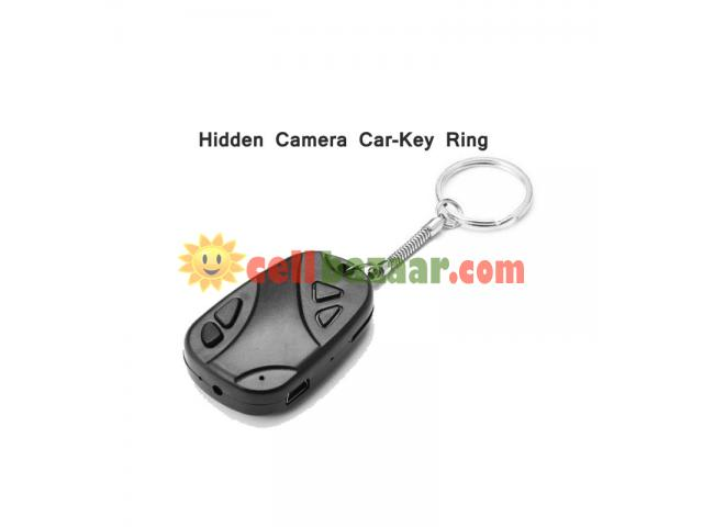 Spy Camera Car Key Ring 32GB - 5/5