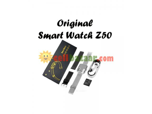 Smart Watch Z50 Original Sim & SD-Card Supported - 4/5