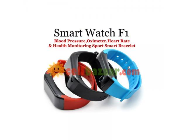 Blood Pressure Monitoring Smart Watch F1 - 1/5