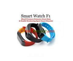 Blood Pressure Monitoring Smart Watch F1 - Image 1/5