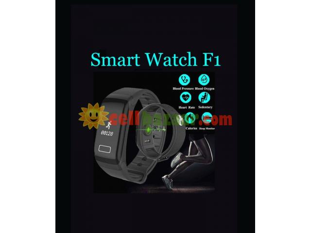 Blood Pressure Monitoring Smart Watch F1 - 2/5