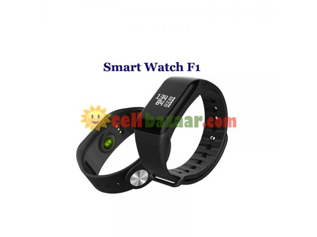 Blood Pressure Monitoring Smart Watch F1 - 4/5