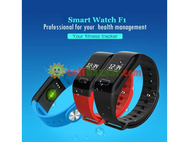 Blood Pressure Monitoring Smart Watch F1 - 5/5
