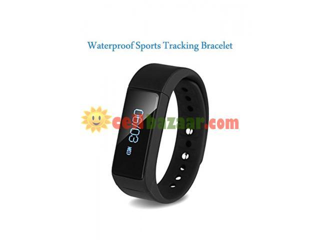 I5 plus Waterproof Sports Tracking Smart Bracelet - 1/5