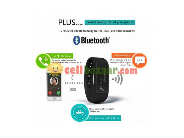 I5 plus Waterproof Sports Tracking Smart Bracelet - 4/5