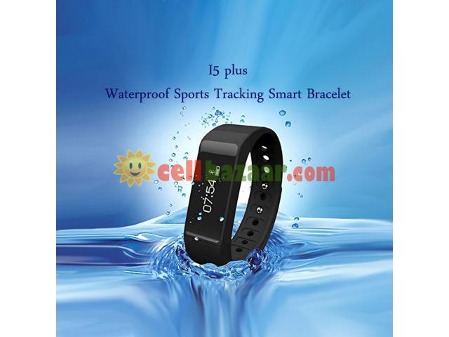 I5 plus Waterproof Sports Tracking Smart Bracelet - 5/5