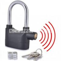 Security alarm lock