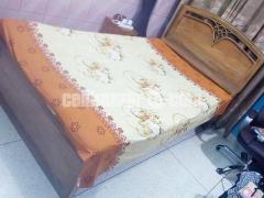 Segun wood bed 4 feet /7feet - Image 2/2
