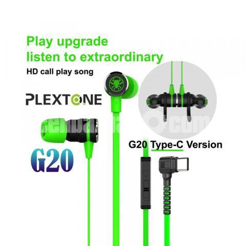Type C Headphone Double Bass Magnetic Gaming Earphone Plextone G20 - 1/6