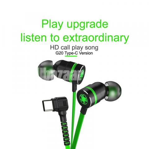 Type C Headphone Double Bass Magnetic Gaming Earphone Plextone G20 - 2/6