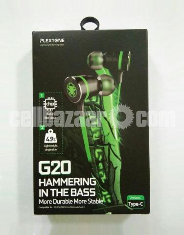 Type C Headphone Double Bass Magnetic Gaming Earphone Plextone G20 - 6/6