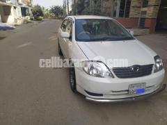 Toyota X Corolla Family Car