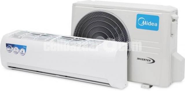 Midea 1.5 Ton Inverter Hot & Coll 60% Energy Savings AC - 1/2