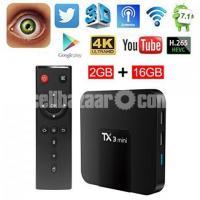 বিগ অফার Android TV Box TX3 Mini 2GB 16GB