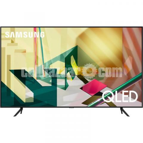 "Samsung Class Q70T 75"" 4K UHD Smart HDR QLED TV - 1/4"