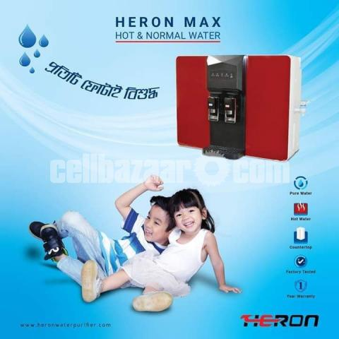 Heron Max Hot and Cold System Reverse Osmosis Drinking Water Purifier - 1/5