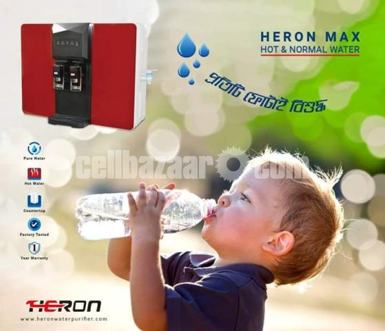 Heron Max Hot and Cold System Reverse Osmosis Drinking Water Purifier - 3/5
