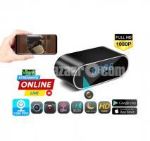 Spy Camera Clock V380 Pro Live Wifi IP Cam Night Vision Recorder