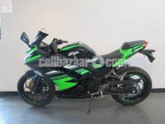 2017 kawasaki ninja 300 for sale contact WhatsApp +12106502792